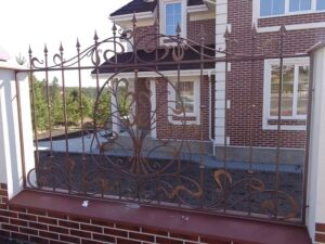 Wrought Iron Fence #1