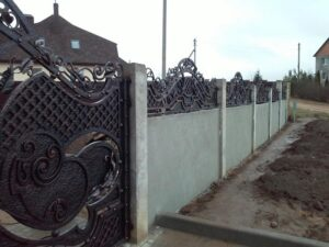 Wrought Iron Fence #10