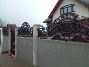 Wrought Iron Fence #11