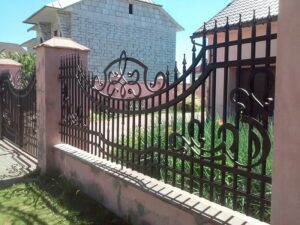 Wrought Iron Fence #14