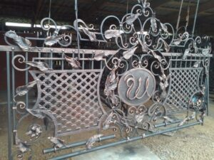 Wrought Iron Fence #17