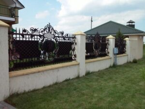 Wrought Iron Fence #18