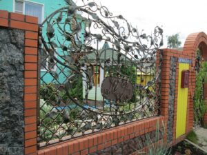 Wrought Iron Fence #19