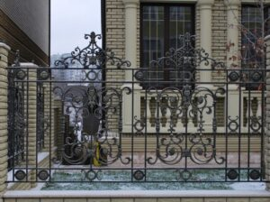 Wrought Iron Fence #2