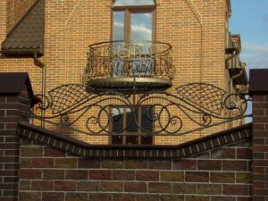 Wrought Iron Fence #20