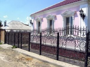Wrought Iron Fence #22