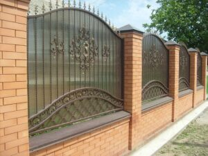 Wrought Iron Fence #23