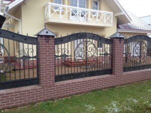 Wrought Iron Fence #25