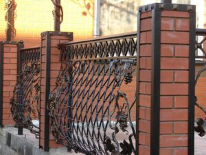 Wrought Iron Fence #27