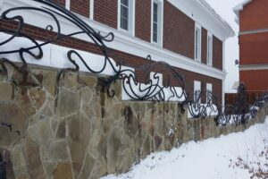 Wrought Iron Fence #29