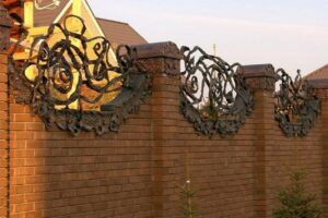Wrought Iron Fence #32