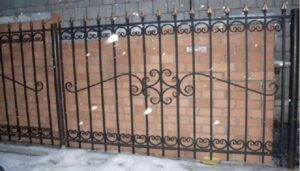 Wrought Iron Fence #35