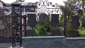 Wrought Iron Fence #37