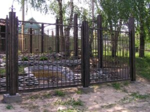 Wrought Iron Fence #38