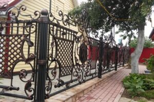 Wrought Iron Fence #39