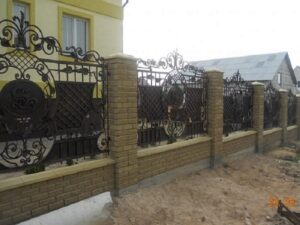 Wrought Iron Fence #41