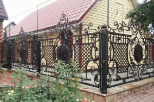 Wrought Iron Fence #42