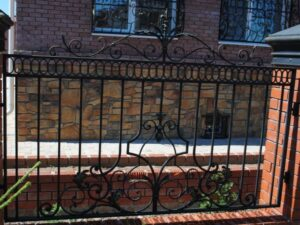 Wrought Iron Fence #43