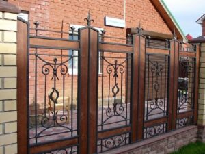 Wrought Iron Fence #44