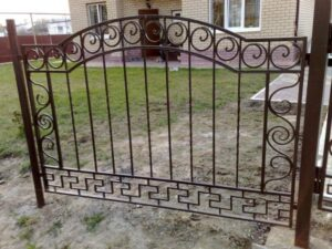 Wrought Iron Fence #46