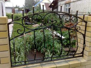 Wrought Iron Fence #48