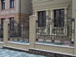 Wrought Iron Fence #5