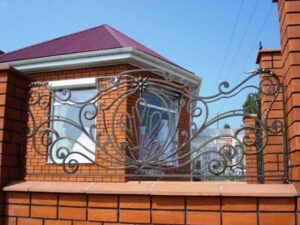 Wrought Iron Fence #50