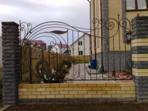 Wrought Iron Fence #52