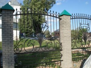 Wrought Iron Fence #55