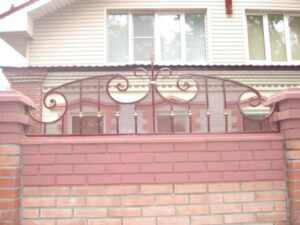 Wrought Iron Fence #56