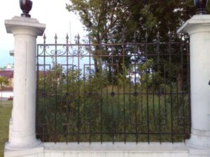 Wrought Iron Fence #57