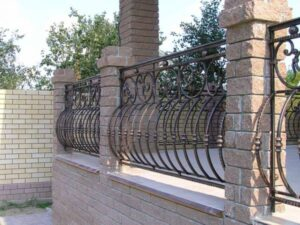 Wrought Iron Fence #59