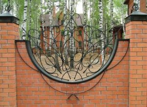 Wrought Iron Fence #61