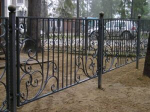 Wrought Iron Fence #63