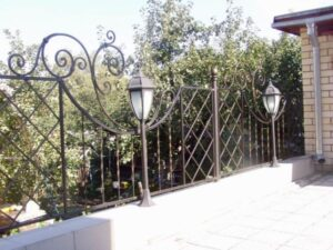 Wrought Iron Fence #64