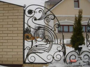 Wrought Iron Fence #66