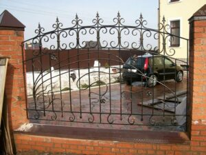 Wrought Iron Fence #67