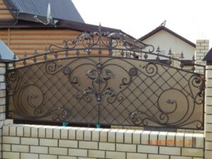 Wrought Iron Fence #68