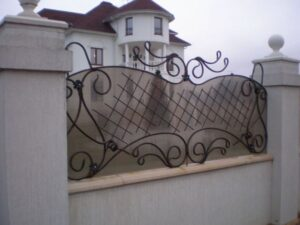 Wrought Iron Fence #69