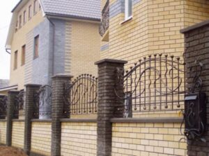 Wrought Iron Fence #70