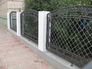 Wrought Iron Fence #72
