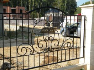 Wrought Iron Fence #74