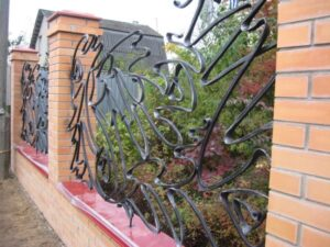 Wrought Iron Fence #75