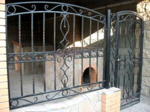 Wrought Iron Fence #76