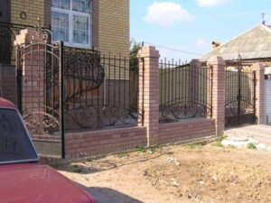 Wrought Iron Fence #78