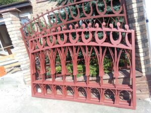 Wrought Iron Fence #8