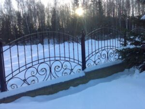 Wrought Iron Fence #81
