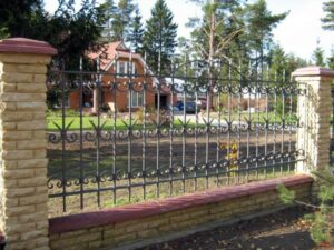 Wrought Iron Fence #84