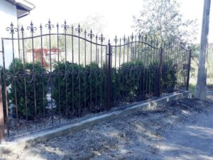 Wrought Iron Fence #9